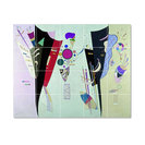 """Wassily Kandinsky Abstract Painting Ceramic Tile Mural #57, 60""""x48"""""""