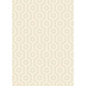 Echo Asiatic Rectangular Rug, Cream, 160x230 cm