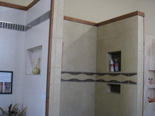 Recessed Shower Shampoo Shelf Or Corner