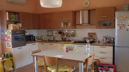 Colori Pareti Cucina : Scelta colore pareti cucina