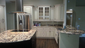 Granite and Cabinets