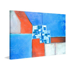 """""""In the Middle"""" Painting Print on Wrapped Canvas, 18""""x12"""""""