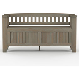 Farmhouse Accent And Storage Benches by Simpli Home Ltd.