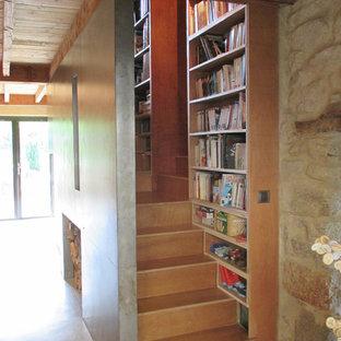 Idée de décoration pour une petite maison minimaliste.