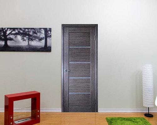 venice modern interior door grey oak finish wfrosted glass interior doors