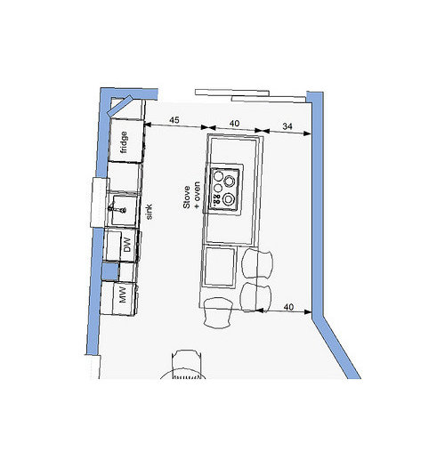 Awkward Kitchen Layout Solutions: Help With Kitchen Layout Needed, Part 2
