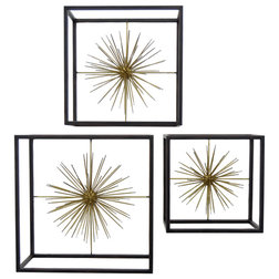 Midcentury Wall Accents by Three Hands Corp