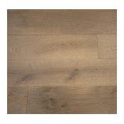 French Oak Prefinished Engineered Wood Floor, Riverstone, 1 Box