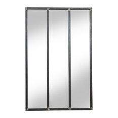 Elliot Metal Wall Mirror, 80x120 cm