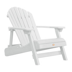 Outdoor Adirondack Chair, White Wash