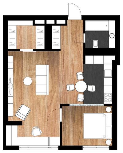 План этажа by Бюро Megabudka