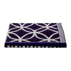 Njack Rug, Purple and White, 120x180 cm