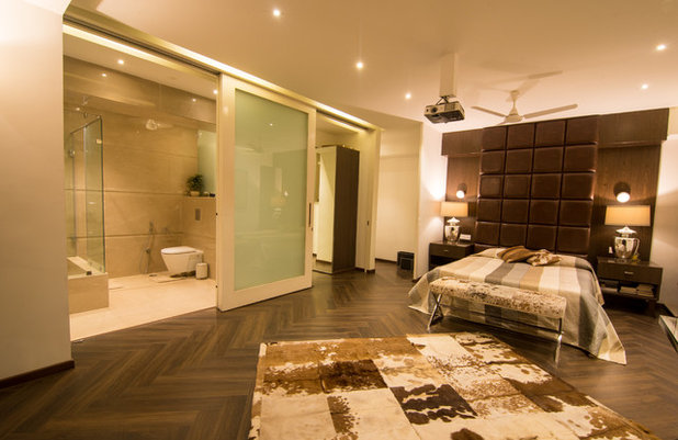 Modern Bedroom by Vinita Sid Interiors