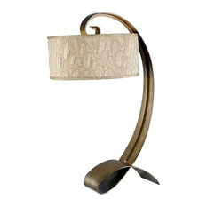 Remy Table Lamp, Smoked Bronze Finish