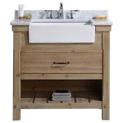 Rustic Bathroom Vanities And Sink Consoles by Ari Kitchen & Bath