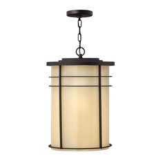 Hinkley Lighting - Hinkley-1122MR-GU24-Ledgewood - One Light Outdoor Hanging Lantern - Outdoor Hangi