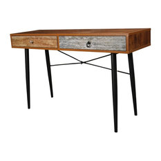 the urban port antiqued 2drawer table by urban port console tables