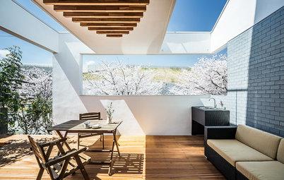 自宅からお花見を。桜を眺める家6選