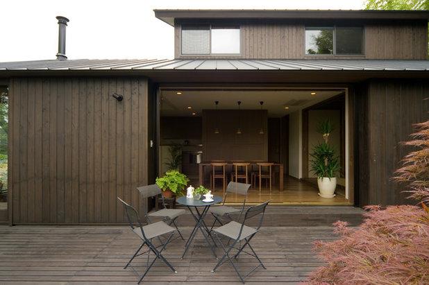 和室・和風 デッキ by Sデザイン設計一級建築士事務所