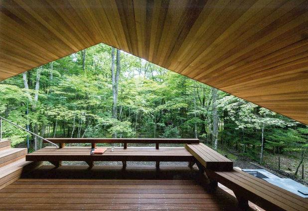 アジアン デッキ by KEN YOKOGAWA ARCHITECT & ASSOCIATES INC.