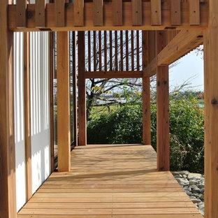 Deck - large scandinavian deck idea in Other