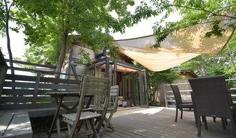 自然素材でお庭兼駐車場とウッドデッキのその後。