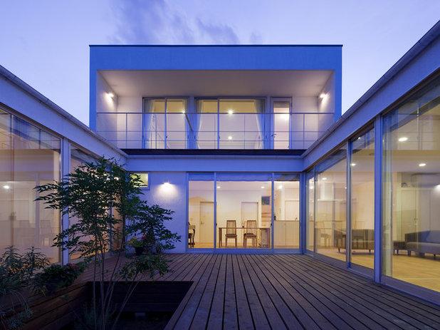 モダン デッキ by 株式会社 井川建築設計事務所 / igawa-architecture