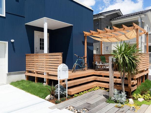 Asian Terrace by 緑と暮らしの庭設計  ( sora-niwa+ )