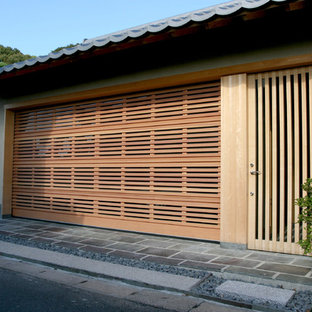 Inspiration for an attached garage remodel in Other