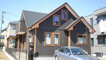 二人暮らしの平屋建ての家