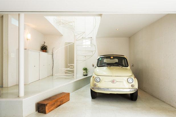 Minimalistisch Garage by トクモト建築設計室