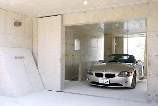 モダン ガレージ by AL ARCHITECTS