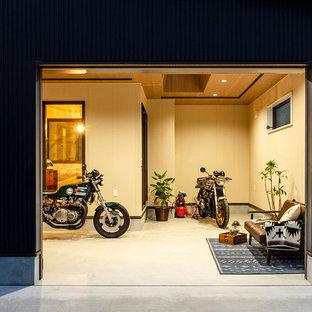 東京都下のモダンスタイルのおしゃれなガレージの写真