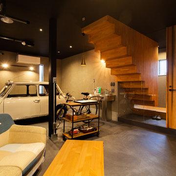 garageの家