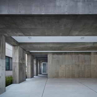Example of an urban garage design in Tokyo