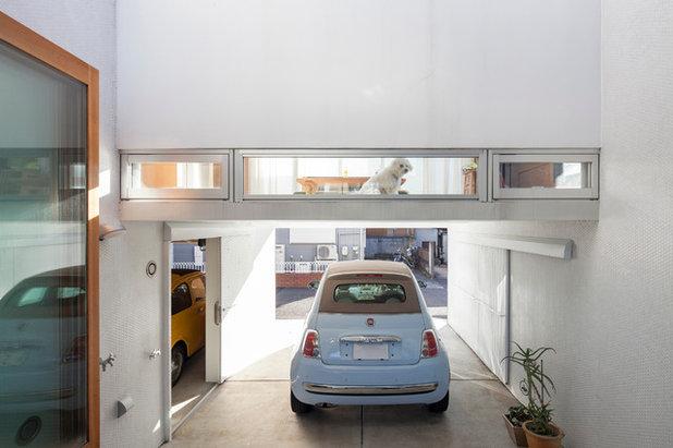 コンテンポラリー ガレージ by 一級建築士事務所 タスエス