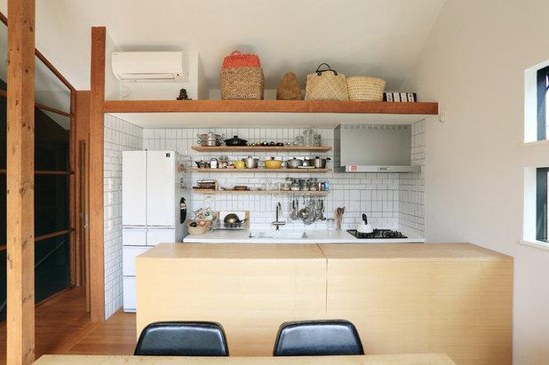 アジアン キッチン by YOSHINORI SAKANO ARCHITECTS Co,.Ltd.