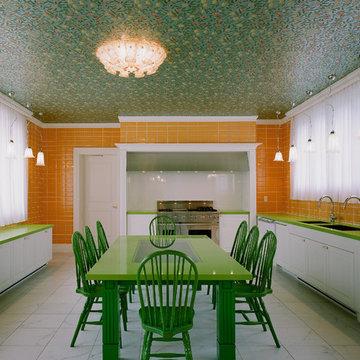 お客様のイメージをイラストから描いたオーダ家具とキッチン