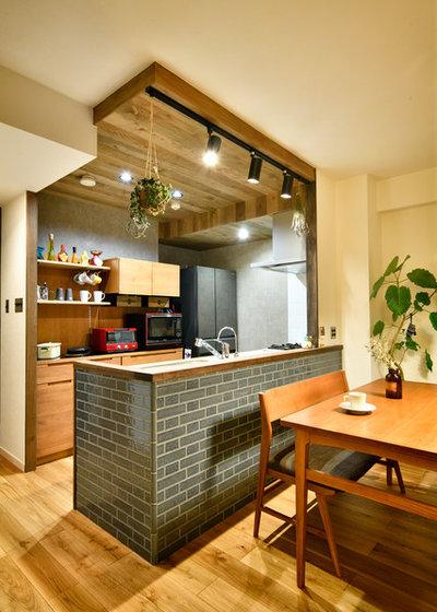 北欧 キッチン by LOHAS studio(ロハススタジオ)