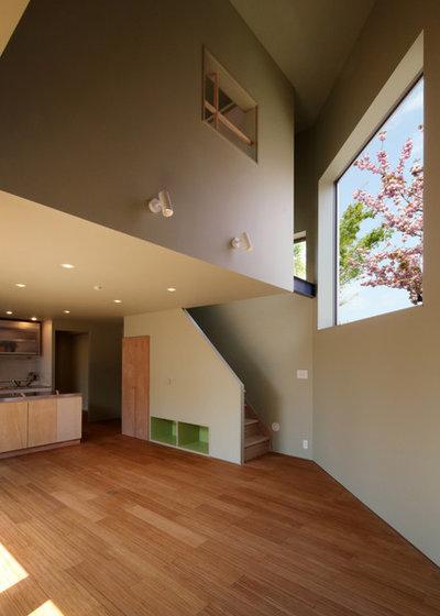 コンテンポラリー キッチン by andfujiizaki一級建築士事務所