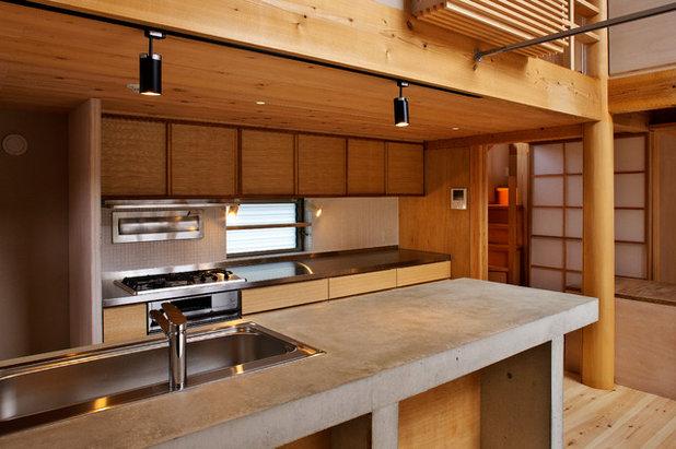 アジアン キッチン by たなはしゆか建築設計アトリエ