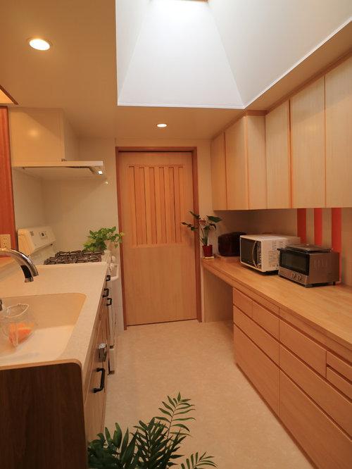 asiatische k chen mit integriertem waschbecken ideen bilder. Black Bedroom Furniture Sets. Home Design Ideas
