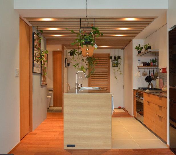 コンテンポラリー キッチン by 株式会社ハンズデザイン一級建築士事務所