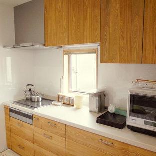 Пример оригинального дизайна: кухня в скандинавском стиле