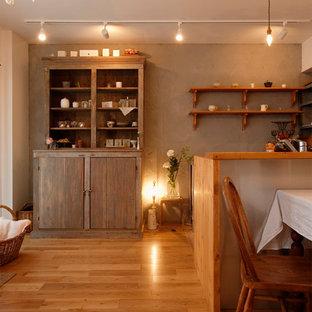 カフェスタイルなキッチンを囲んで・・・