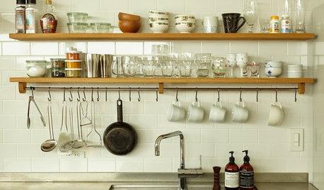 いまどきのキッチンは「つるす」収納で使いやすくおしゃれに!