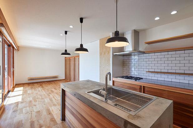 コンテンポラリー キッチン by ima建築設計室