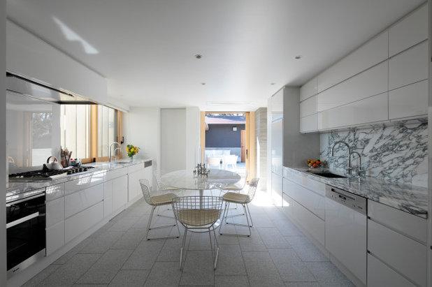 コンテンポラリー キッチン by CUBO design architect
