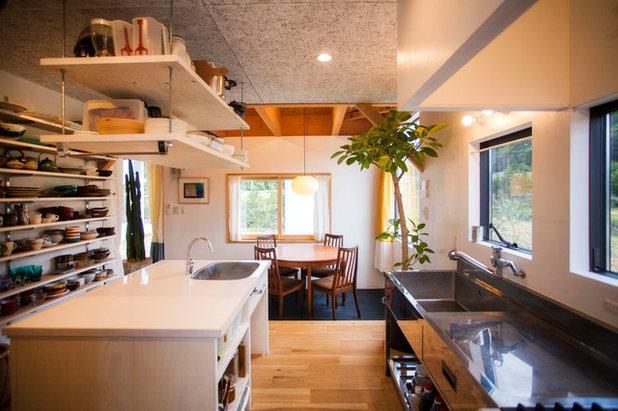 アジアン キッチン by ZOYA Design Office