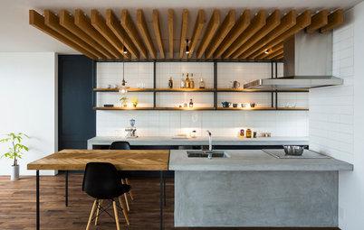 見た目も美しく機能的で使いやすい、オープンキッチンの収納スペースとは?